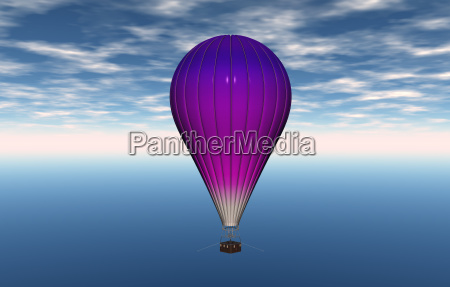 promocion colorido locomocion globo globo de