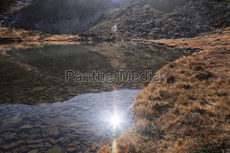 reflexion rayo de sol desierto sol