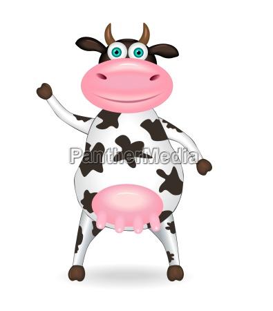 vaca manchada