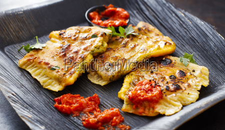 cheddar goezleme grilled stuffed pastry spicy