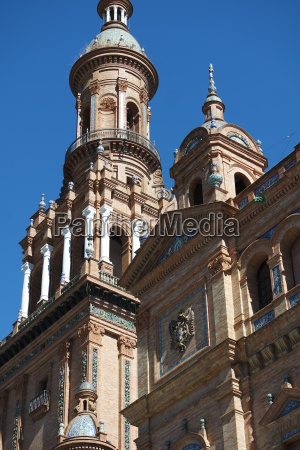 monumento barroco columnas atraccion europa espanya