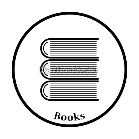 icon of stack of books