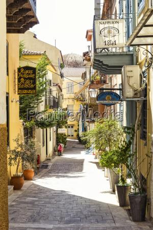 casa construccion paseo viaje ciudad grecia