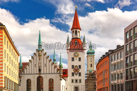 old town hall in munich germany