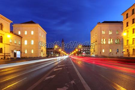 church st louis at night munich