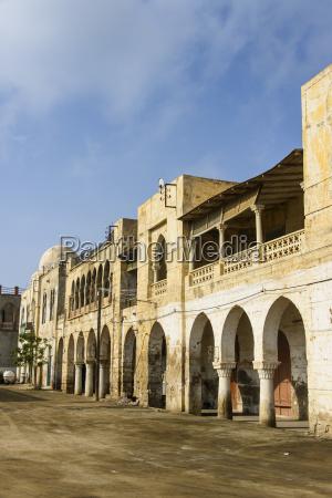 historico africa portico desierto estilo de