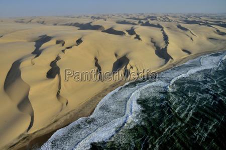 vista panoramica desierto parque nacional africa