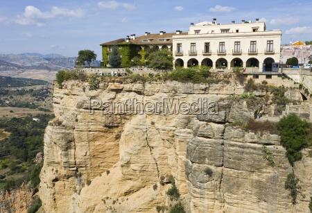 hotel en scenic acantilado andalucia espanya