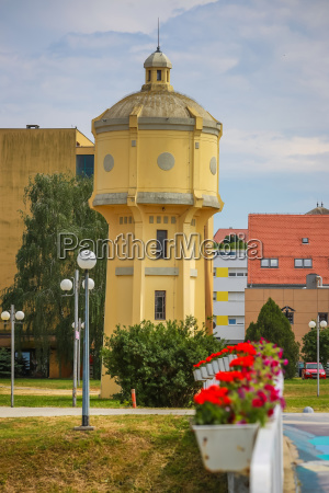 old water tower in vukovar