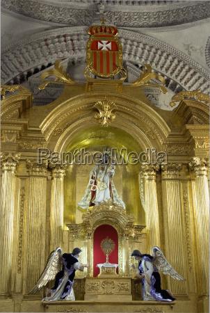 religion iglesia arte dama cielo altar