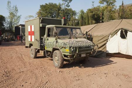 ambulancia del dardo de canada equipo