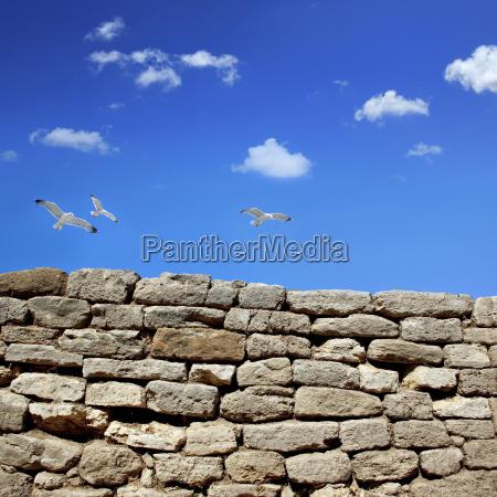 aspero rocas rock pared fuera proteger