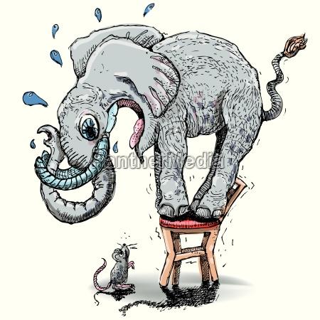 historia elefante miedo depresion inquieto incierto