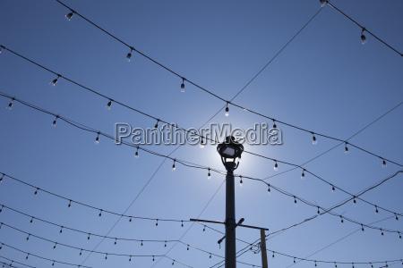 luces luz del sol lineas horizontalmente