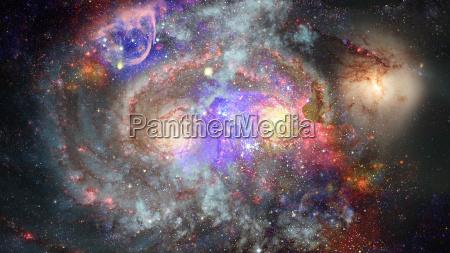 imagen de la nebulosa en el