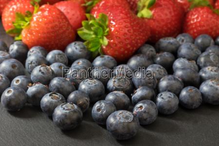 comida dulce primer plano fruta fresa