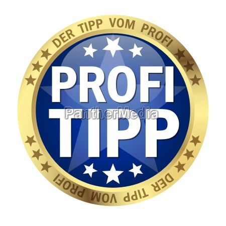 button with banner professional tip