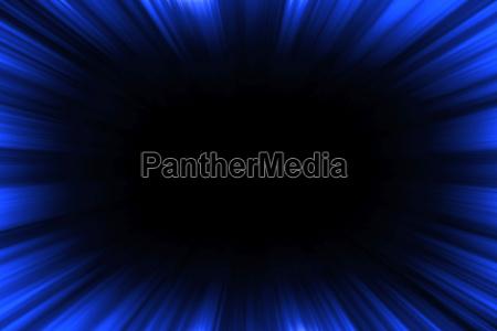 azul negro lineas tunel catarro ilustracion