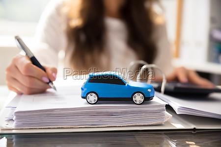 azul escribir coche carro vehiculo transporte