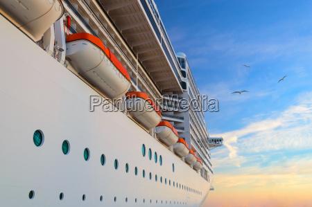 crucero de barco de pasajeros de