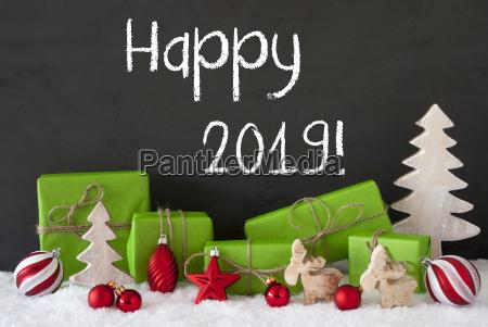 decoracion de la navidad regalos cemento