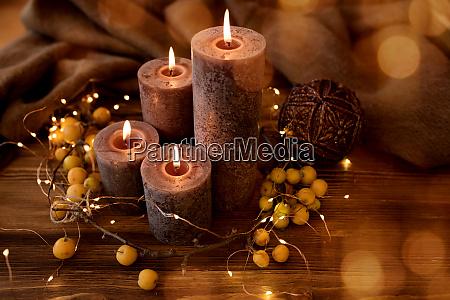 candle lights for christmas