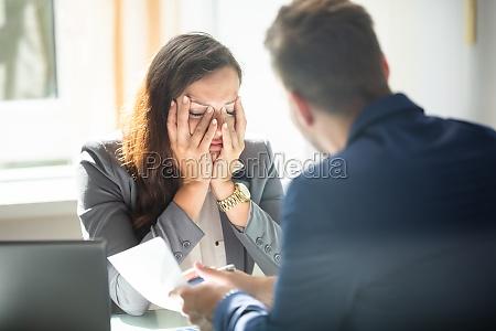 oficina jefe furioso enojado director gerente
