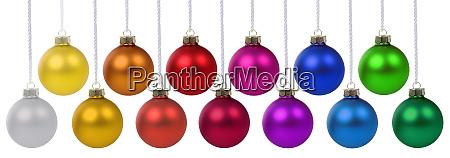 bolas de navidad bolas baubles banner
