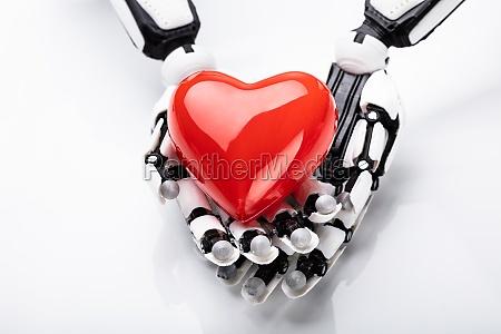 robot corazon ai emocion inteligencia artificial