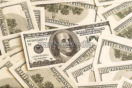 dinero en efectivo dolares moneda dinero