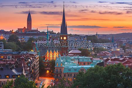 vista aerea de gotemburgo suecia