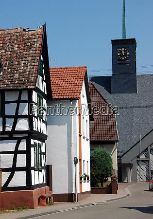 vista de la calle leimersheim