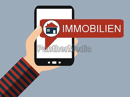 mobile phone real estate german