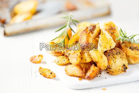 patatas gordas de pato asado ingles