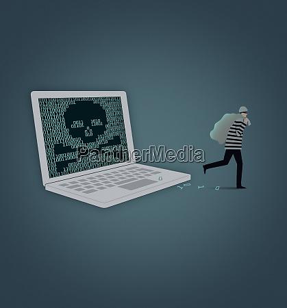 burglar robar datos de la pantalla