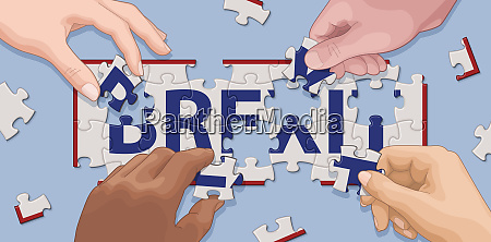 manos cooperando para resolver brexit
