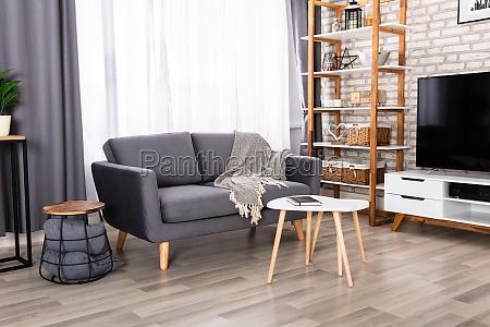 interior de una sala de estar