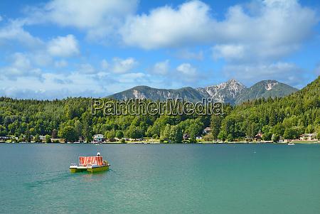 lago klopeiner ver austria carintia alpes