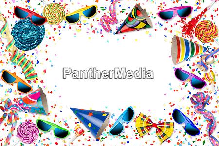 colorido fiesta de celebracion de cumpleanyos