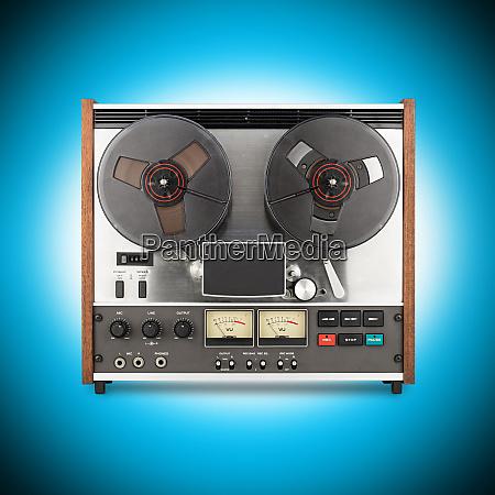 grabador de cintas retro