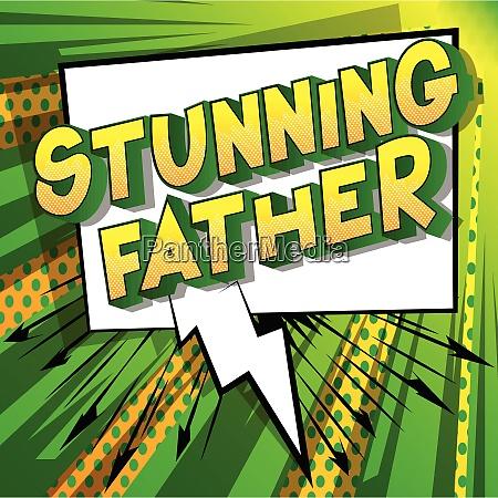 papa padre comics dibujos animados vector