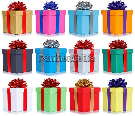 muchos regalos coleccion presenta regalo de