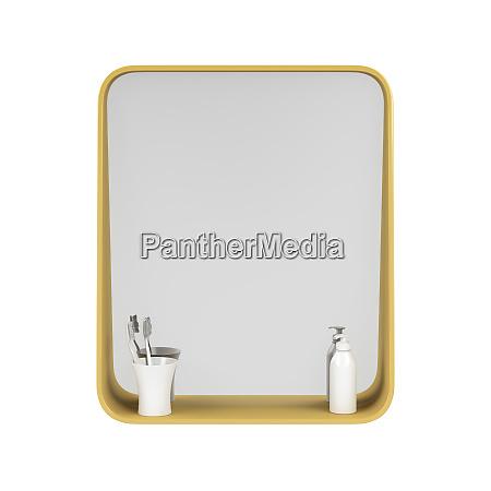 banyo espejo banyera armario inodoro muebles