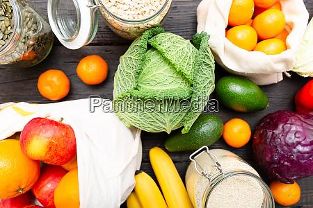 zero sprechi di spesa cibo senza