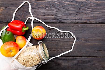 cero desperdicio de compras de comestibles