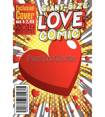 cubierta del libro comico del amor