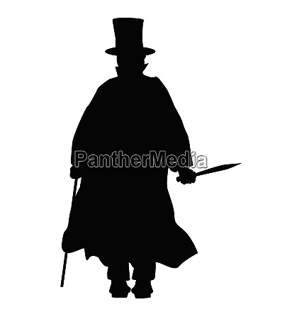 jack the ripper silhouette