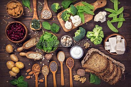 fuentes de proteinas veganas