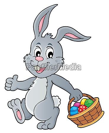 temamatica del conejo de pascua 5