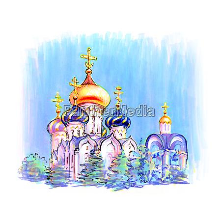 typical orthodox church